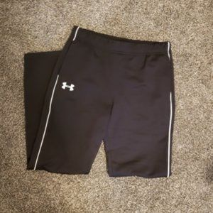 girls under armour track sweatpants